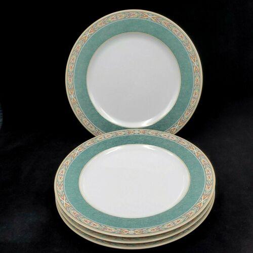 Wedgwood Home Aztec DINNER PLATE Fine Porcelain SET OF 4