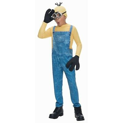Minions Movie: Minion Kevin Child Halloween Costume S, L - Kid Minion Halloween Costume