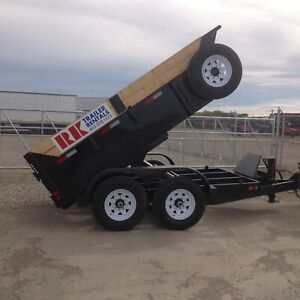 Dump trailers available for rent