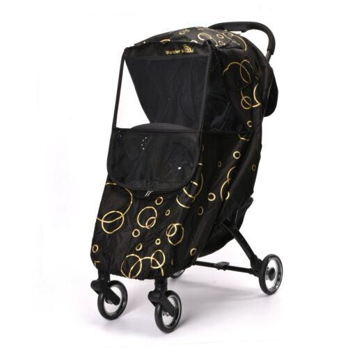 WonderBuggy Universal Stroller Weather Shield Rain Cover with Bubbles