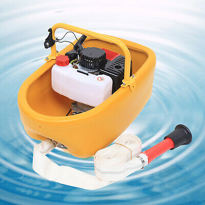 Portable Gasoline Petrol Water Transfer Pump 2.3hp 2stroke Flood Irrigation Pump