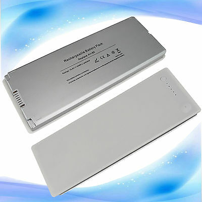 """NEW White 59WH Laptop Battery for Apple MacBook 13"""" 13.3"""" Inch A1181 A1185 MA561 for sale  Albertson"""