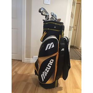 Golf Bag, Irons and Accessories