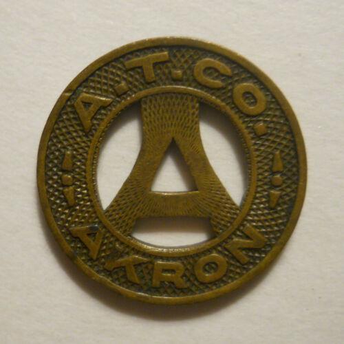 A. T. Company (Akron, Ohio) transit token - OH10P