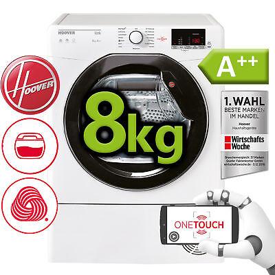 Wärmepumpentrockner Wäschetrockner Trockner A++  Hoover 8 kg One Touch NFC