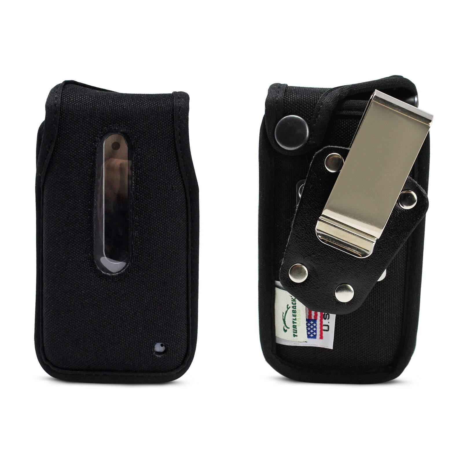 lg-wine-2-lte-fitted-case-heavy-duty-black-nylon-with-rotating-romovable-metal