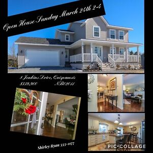 OPEN HOUSE SUN. MARCH 24 2-4PM - QUISPAMSIS