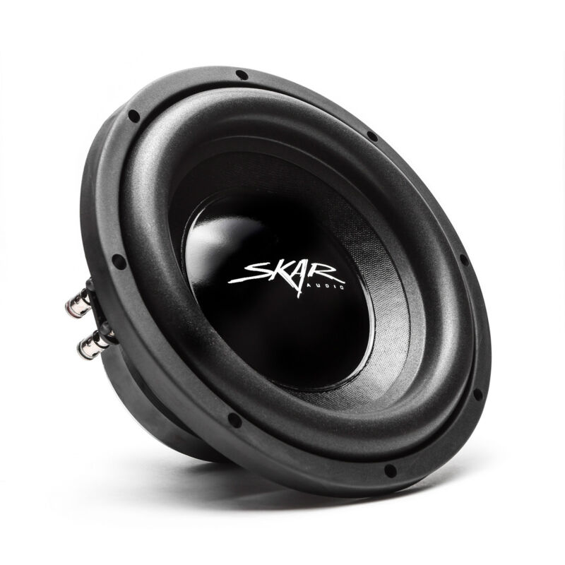 "NEW SKAR AUDIO IX-10 D4 10"" 400 WATT MAX POWER DUAL 4 OHM CAR SUBWOOFER"
