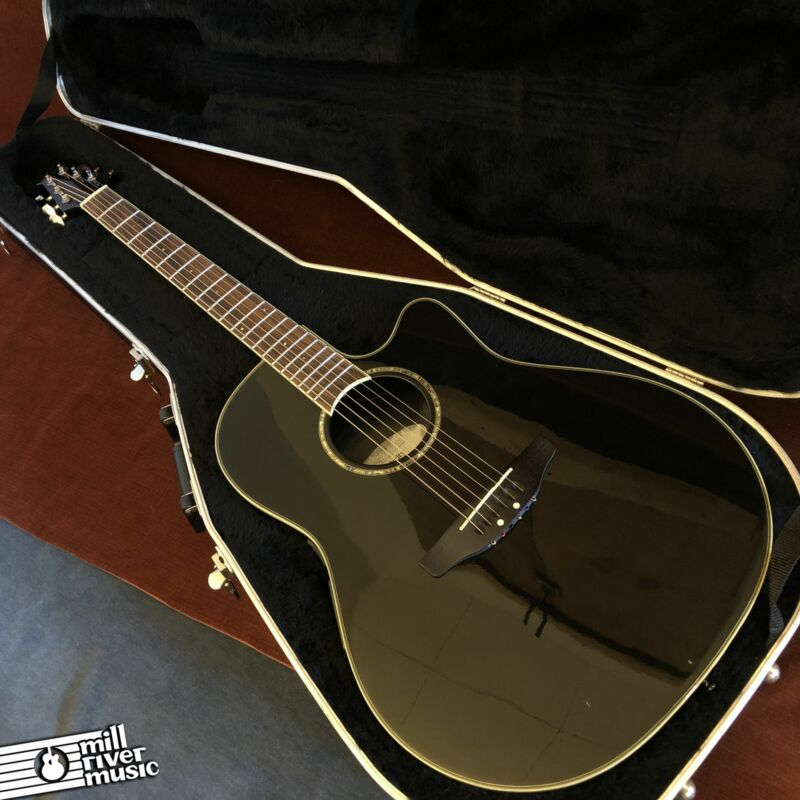 Ovation Celebrity GC-057 Acoustic Guitar Black w/ OHSC