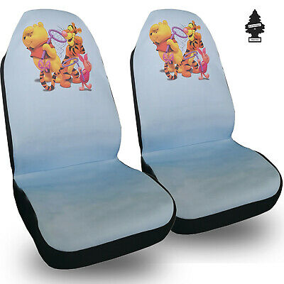 For Honda New Disney Winnie The Pool Car Truck SUV Auto Seat Covers Set  ()