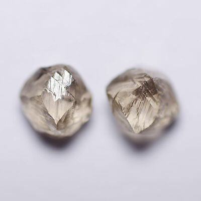 1.08 Carat BROWN MACKLE DIAMOND NATURAL ROUGH UNTREATED
