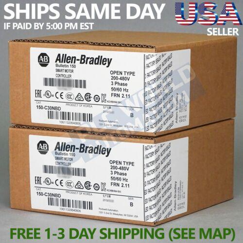 2020 New Sealed Allen Bradley 150-C30NBD Series B SMC-3 Smart Motor Controller