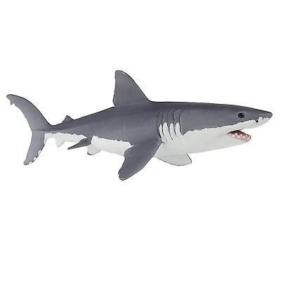 Great White Shark 6.5 Inch Sea Life Figure Safari Ltd NEW Toys Educational - Great White Shark Toys