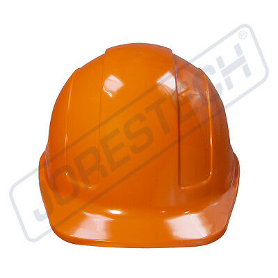 Orange Hard Hat Jorestech Adjustable Ratchet Suspension Safety Cap Style
