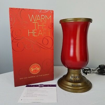 Scentsy Warm The Heart Warmer May 2011 Warmin Up The Summer Series Wax Melt Pot