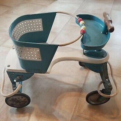 Vintage Taylor Tot Baby Walker - Stroller      In or Out Flower Planter Yard Art