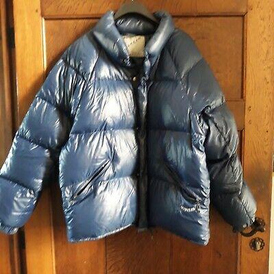 Moncler doudoune veste hiver taille 3 bleue  made in France duvet neuf ski plume
