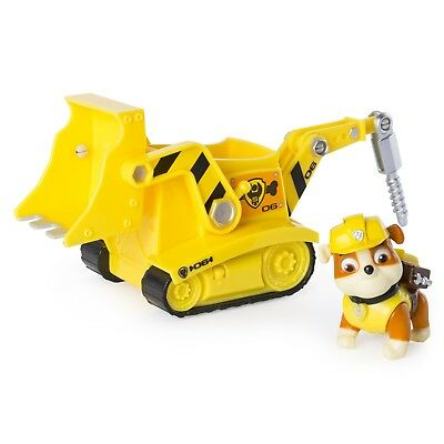 Paw Patrol - Rubble's Diggin' Bulldozer - Figure and Vehicle Best Toy For