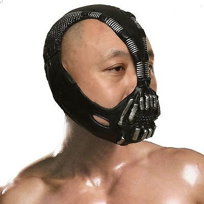 Batman cosplay Dark Knight Cosplay Bane Mask Halloween Party Costume One - Halloween Costumes Bane Mask
