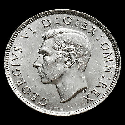 1942 George VI Silver Two Shilling Coin / Florin – G/EF