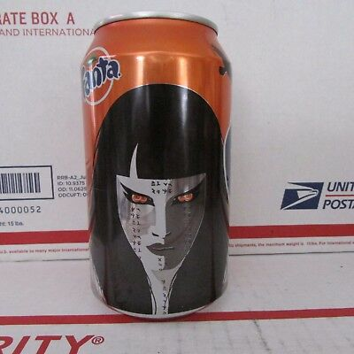 Fanta Orange Halloween EMPTY  12 ounce Aluminum soda pop can 2017 Vampire Ghost