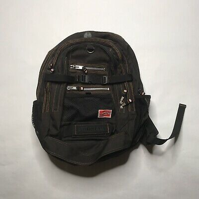 Rare Vintage Shorty's Skateboards Backpack Black Chad Muska