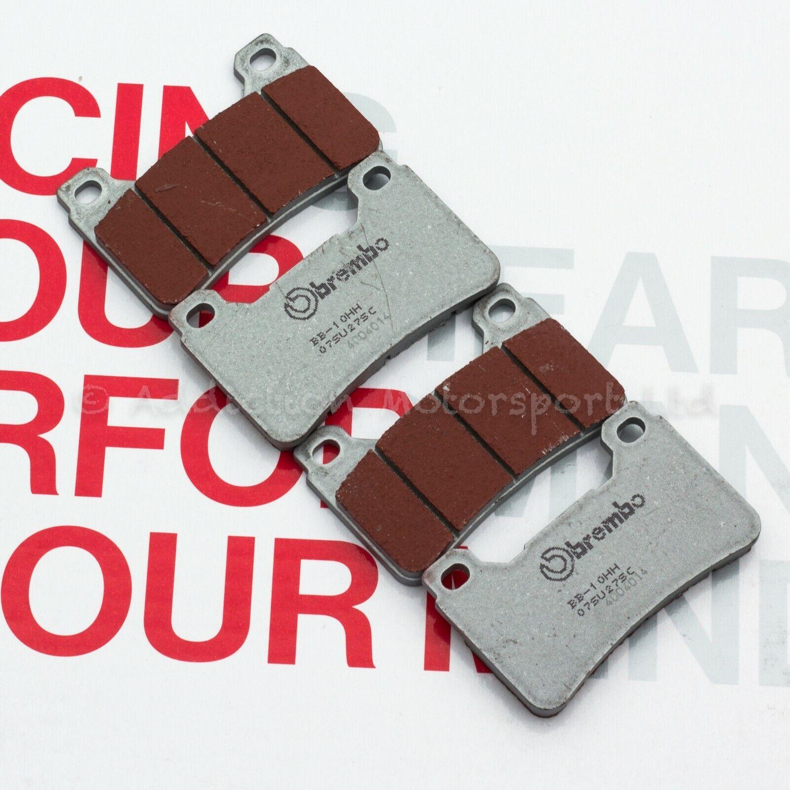 2x Sets SINTERED FRONT BRAKE PADS GSXR750 GSX-R K8 K9 L0 SUZUKI GSXR 750