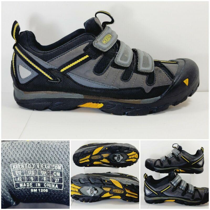 KEEN Springwater Mens Size 9 Cycling Shoes Mountain Bike SM 1208