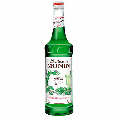 Monin Green Mint, 750 Milliliter (12 Pack)