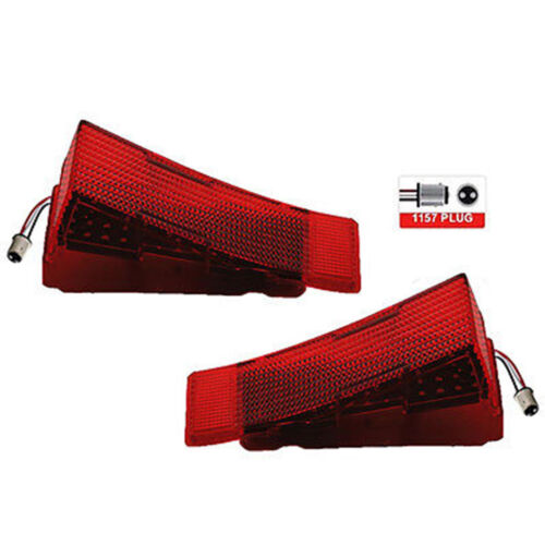 68 Chevelle LED RH Passenger Side Tail Brake Stop Turn Signal Light Lamp Lens