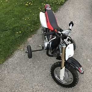 Honda 50 training wheels