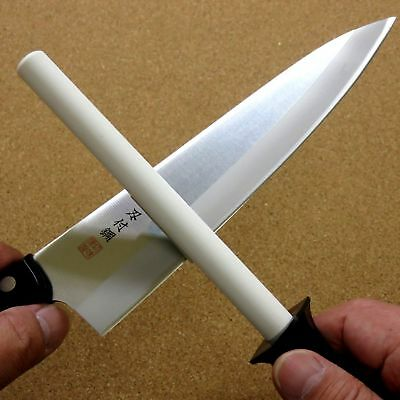 Japanese Kitchen knife Ceramic Sharpening stone Stick Whetstone #800-#1000 JAPAN
