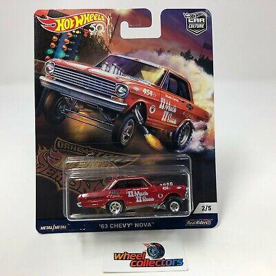 SALE!  '63 Chevy Nova * Hot Wheels DRAG STRIP DEMONS Car Culture * HF11