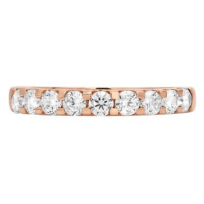 0.9ct Round Cut Solitaire Pave Promise Engagement Wedding...