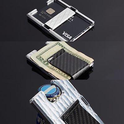 Best !!Men's Wallet Credit Cash And Bottle opener EDC Everyday Carry