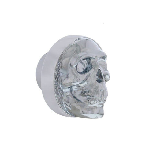 Universal Chrome Skull Dash Radio AC Heater Knob Car Truck Hot Street Rat Rod