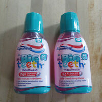 Aquafresh-my Big Teeth Mouthwash-6+years-child Friendly Fruity Flavour 2 X 300ml - aquafresh - ebay.co.uk