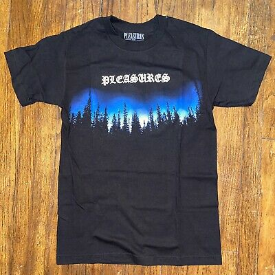 Pleasures Now Forest Black T Shirt Size Small