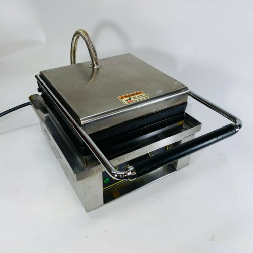 Equipex GES20/1 Single Liege Waffle Maker w/ Cast Iron Grids - Used