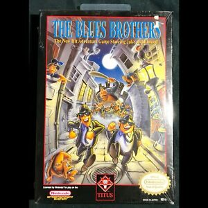 Factory Sealed Blues Brothers for NES