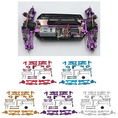 Car Parts - Metal Upgrades Parts Kit WLtoys 144001 1:12 124019 Gear Dogbone RC Car