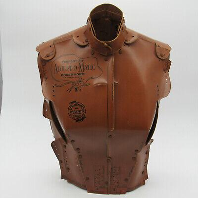 Adjust-o-matic Dress Form Perfect Fit Cardboard Model Vintage 1960s