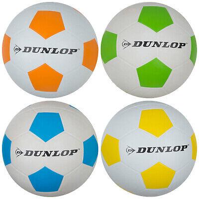Fußball Dunlop Strandball Spielball Wasserbälle Bälle gummiert matt 41244 ()