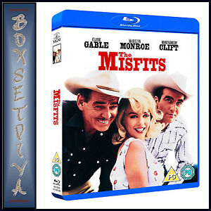 THE-MISFITS-Marilyn-Monroe-Clark-Gable-BRAND-NEW-BLU-RAY