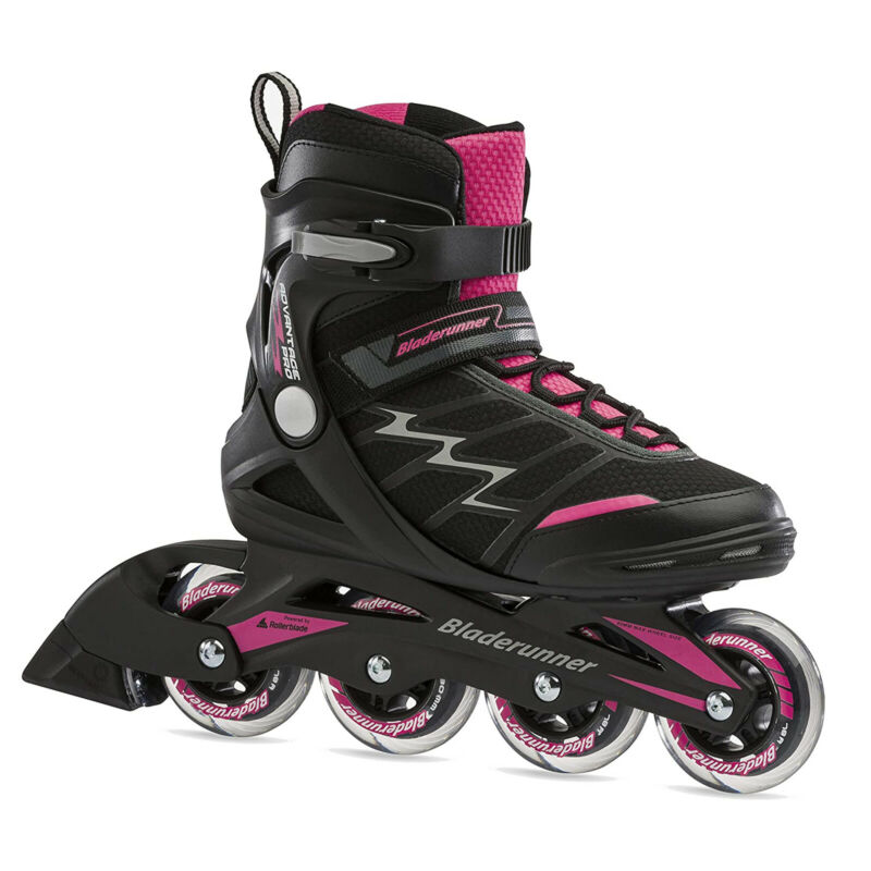 Rollerblade Bladerunner Pro XT Womens Adult Inline Skate, Size 8, Pink(Open Box)