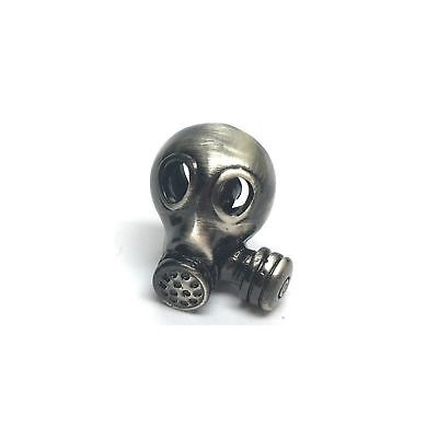 Gas Mask Steampunk Lapel Pin Badge/Brooch Punk Metal BNWT/NEW ()