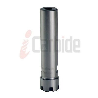 Icarbide 1 Shank Er20 4 Straight Collet Chuck Cylindrical Tool Holder Usa Sell
