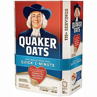 Quaker Oats Quick 1-Minute Oatmeal (10 lbs.)