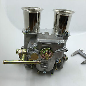 45DCOE carburettor carb w air horn 45 dcoe replacement for Weber Solex Dellorto