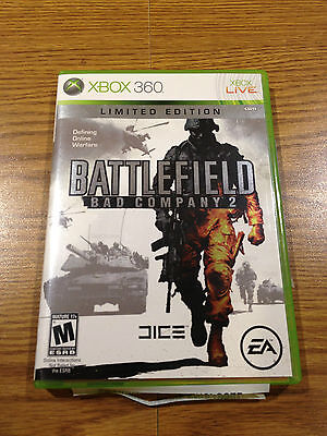 ** Battlefield: Bad Company 2 Limited Edition (Xbox 360, 2010) **